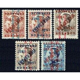 1937 ED. ELP Zaragoza NE01hi/NE02hi, NE05hi/NE06hi, NE12Bhi **
