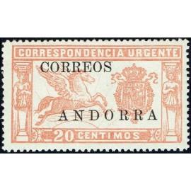 1928 ED. Andorra 13 **