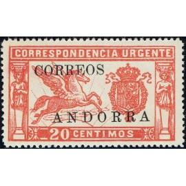 1928 ED. Andorra 14 **