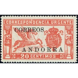 1928 ED. Andorra 14it **