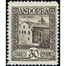 1929 ED. Andorra 21 *