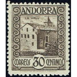 1929 ED. Andorra 21 * (3)