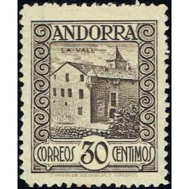 1929 ED. Andorra 21 * (2)