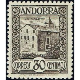 1929 ED. Andorra 21 **