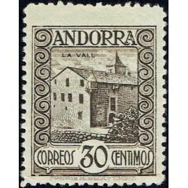 1929 ED. Andorra 21 ** (2)