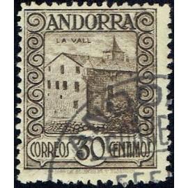 1929 ED. Andorra 21 us