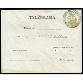 1879 ED. -  Enteros Telegráficos (1)