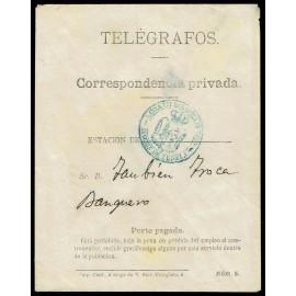 1879 ED. -  Enteros Telegráficos (2)