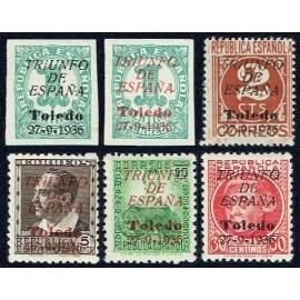 1936 ED. ELP Toledo 1/6 ** (2)