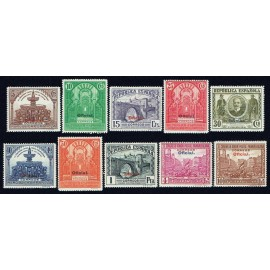 1931 ED. 620/629 * (2)