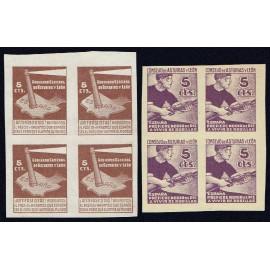 1937 ED. Asturias 01s/02s (*) [x4]