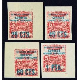 1937 ED. Asturias 08s/11s (*)