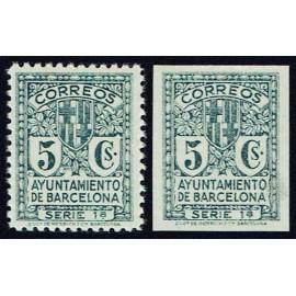 1932-1935 ED. Barcelona 09ef/09efs *