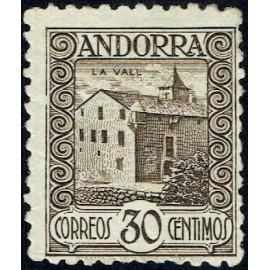 1931 ED. Andorra 21d *