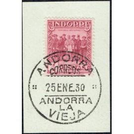 1929 ED. Andorra 25 us