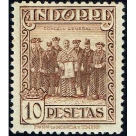 1929 ED. Andorra 26 *