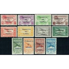 1932 ED. Andorra NE 25/36 **