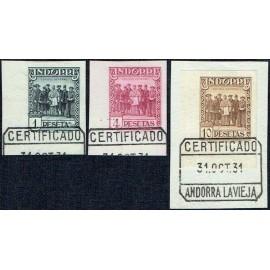 1929 ED. Andorra 24s/26s us