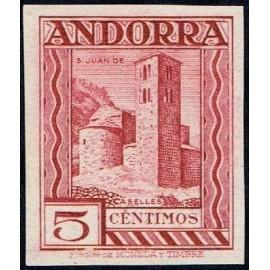 1935 ED. Andorra 29ecs (*)