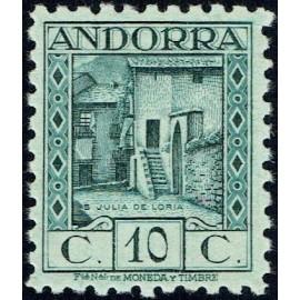 1935 ED. Andorra 30d **