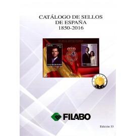 CATÁLOGO FILABO DE SELLOS DE ESPAÑA 1850-2016