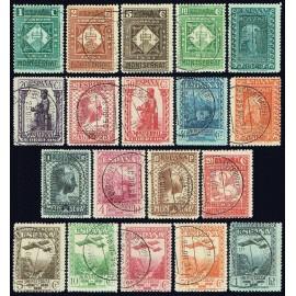 1931 ED. 636/649, 650/654 us