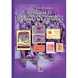 CATÁLOGO ESPECIALIZADO DE LOS SELLOS LOCALES DE LA GUERRA CIVIL ESPAÑOLA 1936-1939 TOMO VI - Varios II