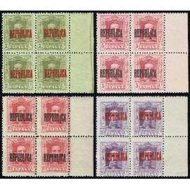 1931 ED. ELR Barcelona 01/04 + 01he/04he + 01heb/04heb ** [x4] (2)