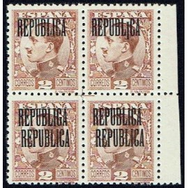 1931 ED. ELR Barcelona 06 + 06heb + 06hhhe + 06hh ** [x4]