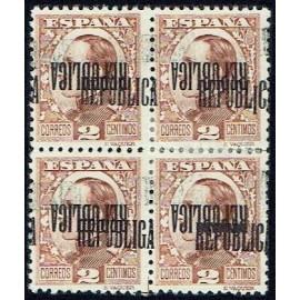 1931 ED. ELR Barcelona 06hhhi + 06hhhiheb + 06hhhihe */(*) [x4]
