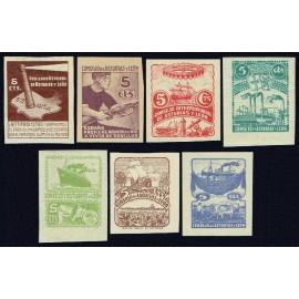 1937 ED. Asturias 01s/07s */(*)