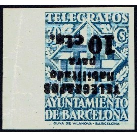 1942-1945 ED. Barcelona - Telégrafos 18his (*)