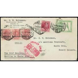 Graf Zeppelin A Canarias ED. 296 [x3], 322, 487