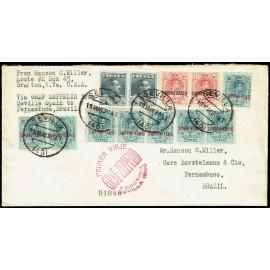 Graf Zeppelin A Brasil ED. 295 [x8], 296 [x2], 321 [x2]