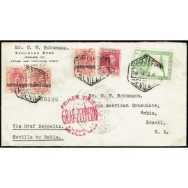 Graf Zeppelin A Brasil ED. 296 [x3], 322, 487