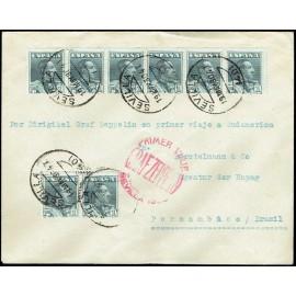 Graf Zeppelin A Brasil ED. 321 [x8]