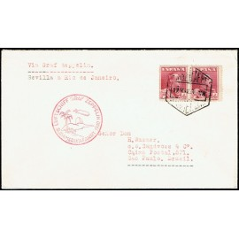 Graf Zeppelin A Brasil ED. 322 [x2]