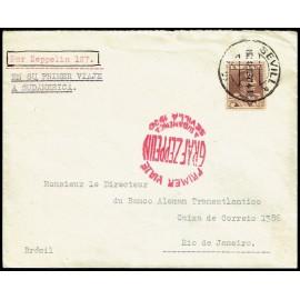 Graf Zeppelin A Brasil ED. 323