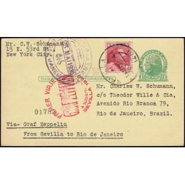 Graf Zeppelin A Brasil ED. 322