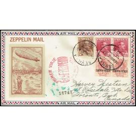 Graf Zeppelin A Estados Unidos ED. 296 [x2], 322 [x2], 323
