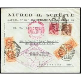 Graf Zeppelin A Estados Unidos ED. 320 [x4], 322/323