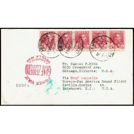 Graf Zeppelin A Estados Unidos ED. 322 [x5]
