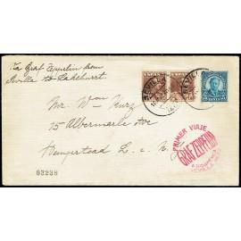 Graf Zeppelin A Estados Unidos ED. 323 [x2]
