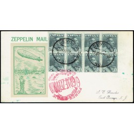 Graf Zeppelin A Estados Unidos ED. 321 [x8]