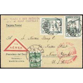 Graf Zeppelin A Estados Unidos ED. 488 [x2]
