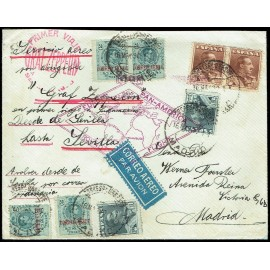 Graf Zeppelin De Sevilla A Sevilla ED. 295 [x4], 321 [x2], 323 [x2]