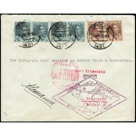 Graf Zeppelin De Sevilla A Sevilla ED. 321 [x4], 323 [x2]