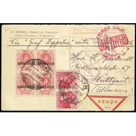 Graf Zeppelin De Sevilla A Sevilla ED. 296 [x4], 322 [x2]