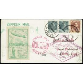 Graf Zeppelin De Sevilla A Sevilla ED. 321 [x2], 323