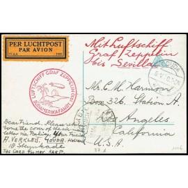 Graf Zeppelin Extranjero Países Bajos (2)